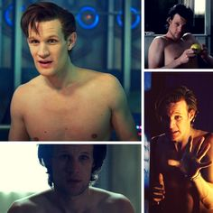 Matt Smith being shirtless. Because reasons. Doctor Who reasons.    Join the Doctor Who Amino  community: http://bit.ly/DWAminoPin