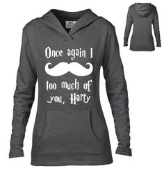 Harry Potter Inspired Clothing I Mustache Too Much by NattieDuds
