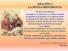 oracion de la divina providencia - Buscar con Google