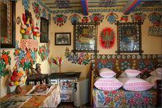 A vila de casas maravilhosamente pintadas de Zalipie - AC Variedades