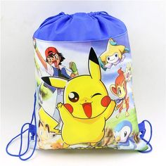 birthday christmas gift lovely minnie mouse kids girls non-woven fabrics backpacks drawstring bag 1pcs
