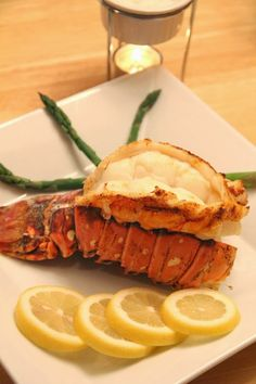 Broiled Lobster Tails - Bitz & Giggles
