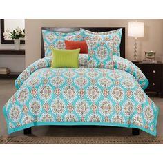Seraphina 6-piece Cotton Comforter Set   Overstock.com Shopping - Great Deals on Comforter Sets