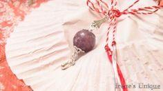 ✿ Pandantiv Talisman Lepidolit 15,00 RON Unique, Blog, Handmade, Hand Made, Blogging, Handarbeit