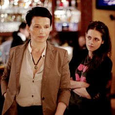 Clouds of Sils Maria (2014) by Olivier Assayas with Juliette Binoche, Kristen Stewart, Chloë Grace Moretz