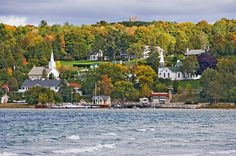 One of the small towns in Door County. The best time to go there, I think, is in the Fall, though ANY TIME is great....