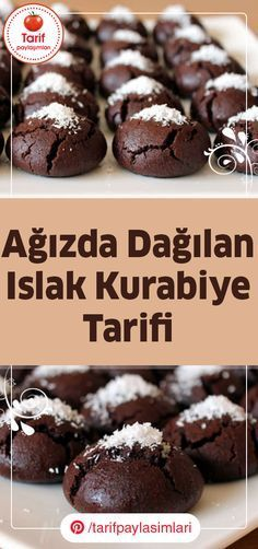 These delicious cookies reminiscent of Brownie, with this recipe we will give you pra . - You can prepare these delicious cookies that resemble Brownie in a very short time in a practical w - New Recipes, Cookie Recipes, Dessert Recipes, Favorite Recipes, Summer Recipes, Beef Pies, Mince Pies, Green Curry Chicken, Flaky Pastry