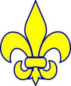 cub scout fleur de lis clip art - Google Search