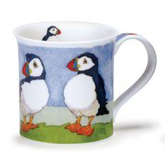Dunoon Mugs Bute Seabirds PUFFIN