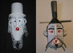 Masks from recycled plastic bottles!