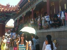 La marabunta en el palacio de verano. Pekín.