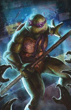 Teenage Mutant Ninja Turtles: Donatello.