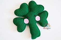 Shamrock Kawaii Cuddler™ Crochet Pattern