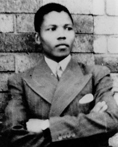 Nelson Mandela, 1937. Thank you for your courage, fortitude, unflinching fearlessness.