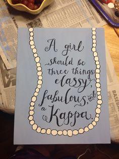 Kappa Kappa Gamma #kkg #canvas #sorority #kappa @katiesulek