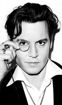 Johnny Depp (John Christopher Depp II) (born Owensboro, Kentucky (USA), June 9, 1963) the love of my life if u didn't already know