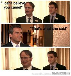 Michael Scott! I cried during this part.