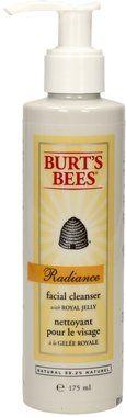 Burt's Bees Nettoyant Visage à la Gelée Royale, Radiance, 175 ml   Ecco Verde