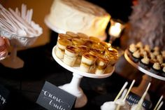 wedding creme brulee, idea, mini foods, mini deserts, eat, dessert in shots, mini creme, mini postr, dessert tablescap