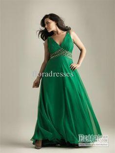 v neckline ruched bodice beaded waistline chiffon Formal Evening Prom dresses