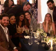 Beautiful night with beautiful people. @armiehammer @thisisechambers @edgarramirez25 @ana_d_armas @tessamaethompson ❤️❤️#hammerm