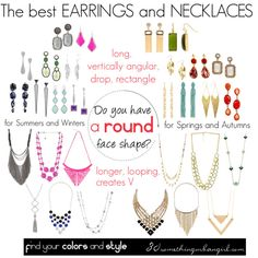 The best earrings and necklaces for round face shape by thirtysomethingurbangirl on Polyvore featuring Steve Madden, Konstantino, Aéropostale, ALDO, Monsoon, Oscar de la Renta, Tarina Tarantino, Lele Sadoughi, Dorothy Perkins and Moran Porat Jewelry