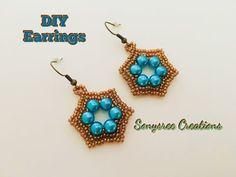 Starlet Earrings ⭐️ ...Super Easy... - YouTube