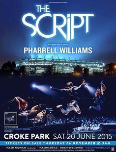 The Script Pharrell Williams Croke Park, Dublin Saturday 20 June 2015