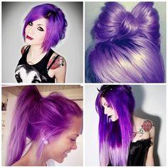 cabelos roxos
