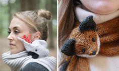 Ну ооочень крутые шарфы!.. / Вязание спицами / Вязание спицами аксессуаров
