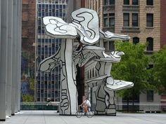 Artist Jean Dubuffet