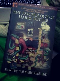 I want this both as a psychologist and as a lover of all things Potter