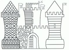 Home Decorating Style 2020 for Coloriage Magique Maternelle, you can see Coloriage Magique Maternelle and more pictures for Home Interior Designing 2020 at Coloriage Kids. Castles Topic, Chateau Moyen Age, Medieval Crafts, Grande Section, Château Fort, Cool Art Projects, Halloween Painting, Pre Writing, Painted Paper