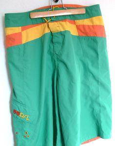 Diesel 55DSL Swim Trunks Board Shorts Size 34 Waist #55DSL #Trunks