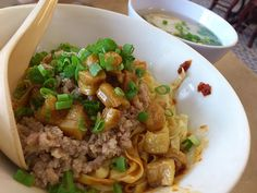 Mee Pok aka Bak Chor Mee - fave bit is the crispy pork lard! Simple pleasures are truly satisfying.