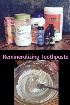 Can you remineralize your teeth? Take a look at this simple toothpaste to reverse cavities!
