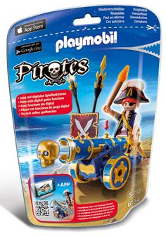 Playmobil Pirates, Canon, Pirate Games, Buried Treasure, Kids Toys, Cool Designs, Android, Smartphone, App