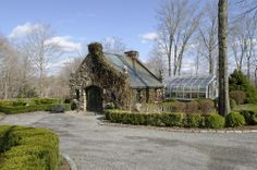 Also located on the property are botanical gardens and a greenhouse.