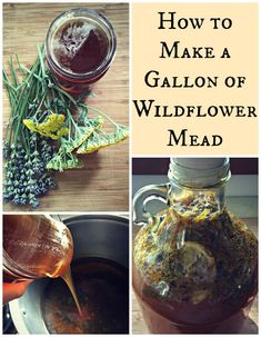 How to make Wildflower Mead