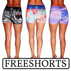 Our FREESHORTS promotion is about to end. Make sure you get yours before they are all gone! Doodle Love - Coral Horizon - and Brush Waves are some of our favs, which ones are yours?
