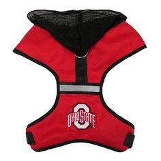 Hooded NCAA Harness — Ohio State Buckeyes