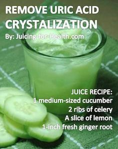 Cucumber juice helps bring down body temperature, is highly alkalizing and effective for removing uric acid crystalization in joints, like in the case of GOUT. There may be a slight pain when drinking this juice it is the stirring of the old toxins Healthy Juices, Healthy Smoothies, Healthy Drinks, Healthy Chicken, Healthy Snacks, Chicken Recipes, Healthy Juice Recipes, Healthy Water, Diabetic Snacks