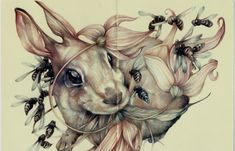 Juxtapoz Magazine - Marco Mazzoni and Lindsey Carr @ Roq La Rue Gallery, LA