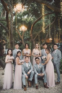 A Blush Outdoor Wedding Filled with Rustic Romance - Romantic Wedding Photos - Wedding Party Outside Wedding Ceremonies, Romantic Wedding Receptions, Romantic Wedding Photos, Wedding Ceremony, Romantic Things, Table Wedding, Romantic Weddings, Outdoor Wedding Attire, Rustic Wedding Groomsmen