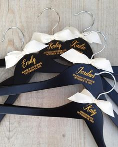 ⭐⭐⭐⭐⭐ 'Beautiful hangers for my daughters wedding day! Great Quality! They arrived safe & sound & on time for the big day! Very pleased 😃 Thank you so much!' • • • • • #bridesmaidhangers #personalizedhangers #bridesmaidgift #bridalshowergift #bridalpartygifts #bridesmaids #bridalshower #bridalparty #giftideas #bridesmaidideas #bridesmaidgiftideas #bridesmaids #bridesmaidduty #personalizedgift #customhanger #bridesquad #weddinggifts #bridalpartysquad #bridesmaidinspiration #bridesmaidhanger Bridesmaid Dress Hangers, Bridesmaid Duties, Bridesmaid Proposal, Bridesmaids, Bride Hanger, Wedding Hangers, Personalized Hangers, Personalized Wedding, Name Hangers