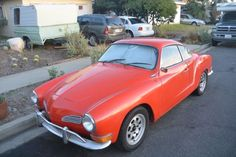 1971 Volkswagen Karmann Ghia Coupe for sale: photos, technical specifications, description