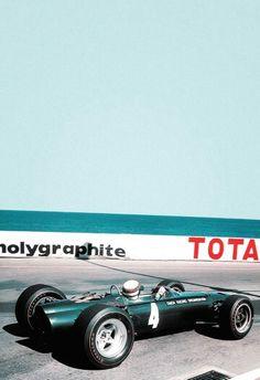 #4 Jackie Stewart...Owen Racing Organisation...BRM P261...Motor BRM P60 V8 1.5...GP Monaco 1965