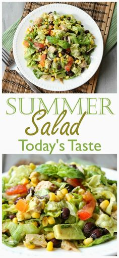 I love a good salad! This looks delicious! -Todaystaste.com