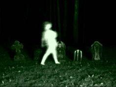 Enhanced graveyard ghost video .