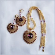 Pattern bijoux: Orecchini Mariana